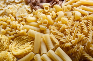 Different pasta shapes ...